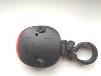 Стоп задний велосипедный 3 диода, 2 лазера